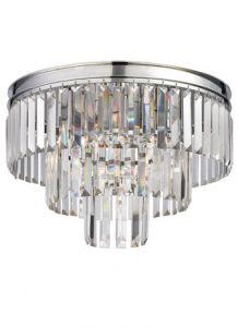 53171 - Luminaire plafonnier chrome