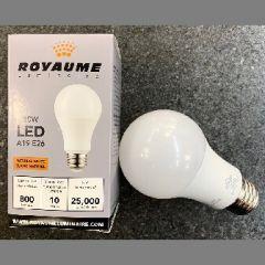 17071 - Ampoule A19 Del 800 lum. 3000K.