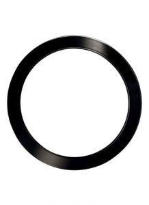 43769 - Plafonnier 5 pces noir mat.