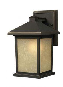 22162 - Luminaire extérieur bronze.
