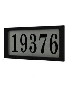 27886 - Plaque d'adresse.