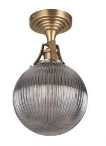 32463 - Plafonnier laiton antique