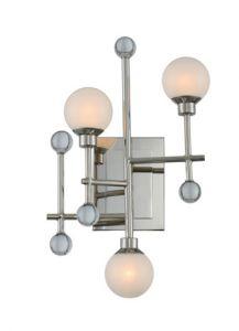 50965 - Luminaire mural chrome