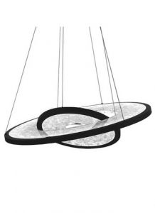 53381 - Luminaire suspendu noir