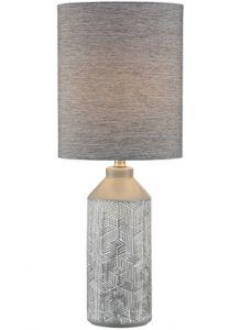 54457 - Lampe sur table grise