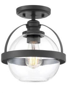 51405 - Plafonnier avec verre clair.