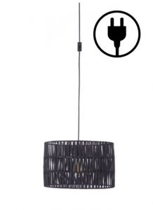 60380 - Luminaire noir.
