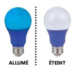 29007 - Ampoule *A19 Del bleu