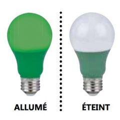 29006 - Ampoule A19 Del vert