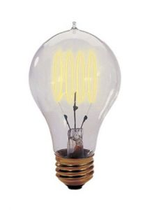 10192 - Ampoule A19 40W Vintage