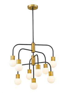 50111 - Luminaire suspendu laiton antique