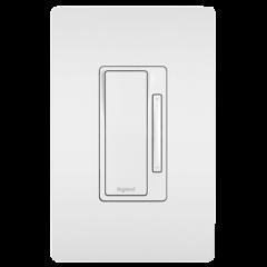 28103 - Gradateur Wi Fi esclave blanc satiné.