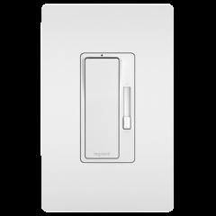 28101 - Gradateur Del/incandescant blanc satiné.