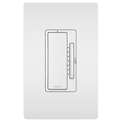 28102 - Gradateur universel Wi Fi blanc satiné.