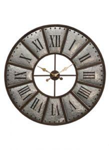 31501 - Grande horloge industrielle