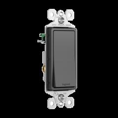 43186 - Interrupteur noir mat 4 voies