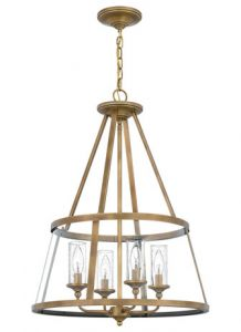 54550 -Luminaire suspendu laiton
