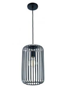 60571 - Luminaire suspendu noir.