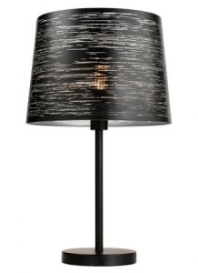 54079 - Lampe sur table noir et argent