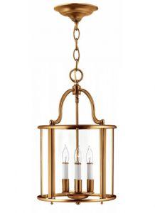 28755 - Lanterne laiton antique