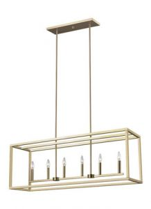41054 - Luminaire rectangle.