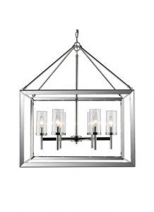 26992 - Luminaire suspendu carré