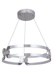 21025 - Luminaire suspendu chrome