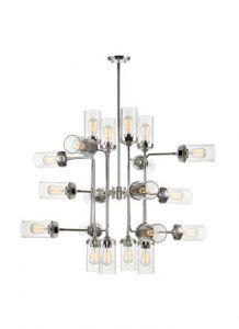 30322 - Luminaire suspendu chrome