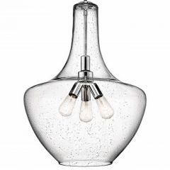 17710 - Luminaire suspendu chrome