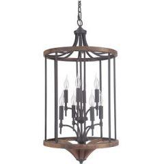 18324 - Luminaire suspendu en bois