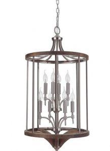 18325 - Luminaire suspendu en bois