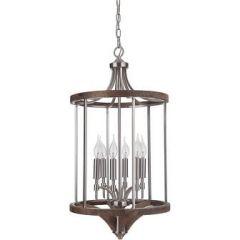 18327 - Luminaire suspendu en bois