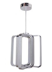20989 - Luminaire suspendu moderne chrome.