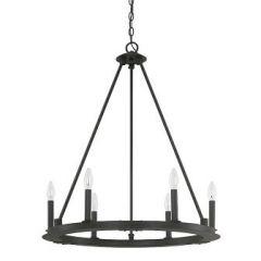 18759 - Luminaire suspendu noir mat