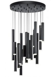 42701 - Luminaire suspendu noir.