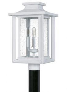54577 - Luminaire extérieur suspendu blanc