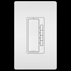 28007 - Minuterie blanc satiné.