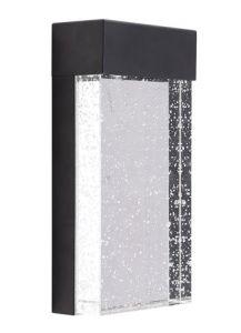 60972 - Luminaire mural noir.