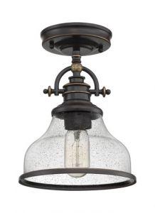 54554 - Plafonnier bronze
