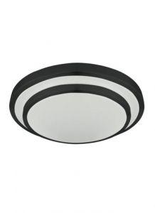 54543 - Luminaire plafonnier noir.