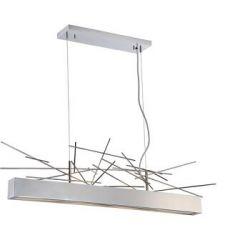 17391 - Luminaire suspendu moderne chrome 42 pces