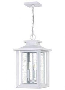 54576 - Luminaire extérieur suspendu blanc