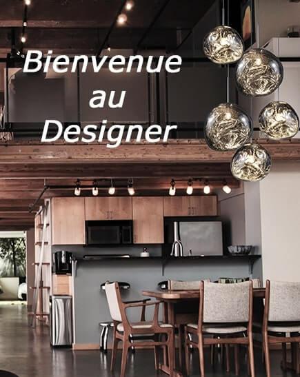luminaires pour designer et decoratrice d'interieur